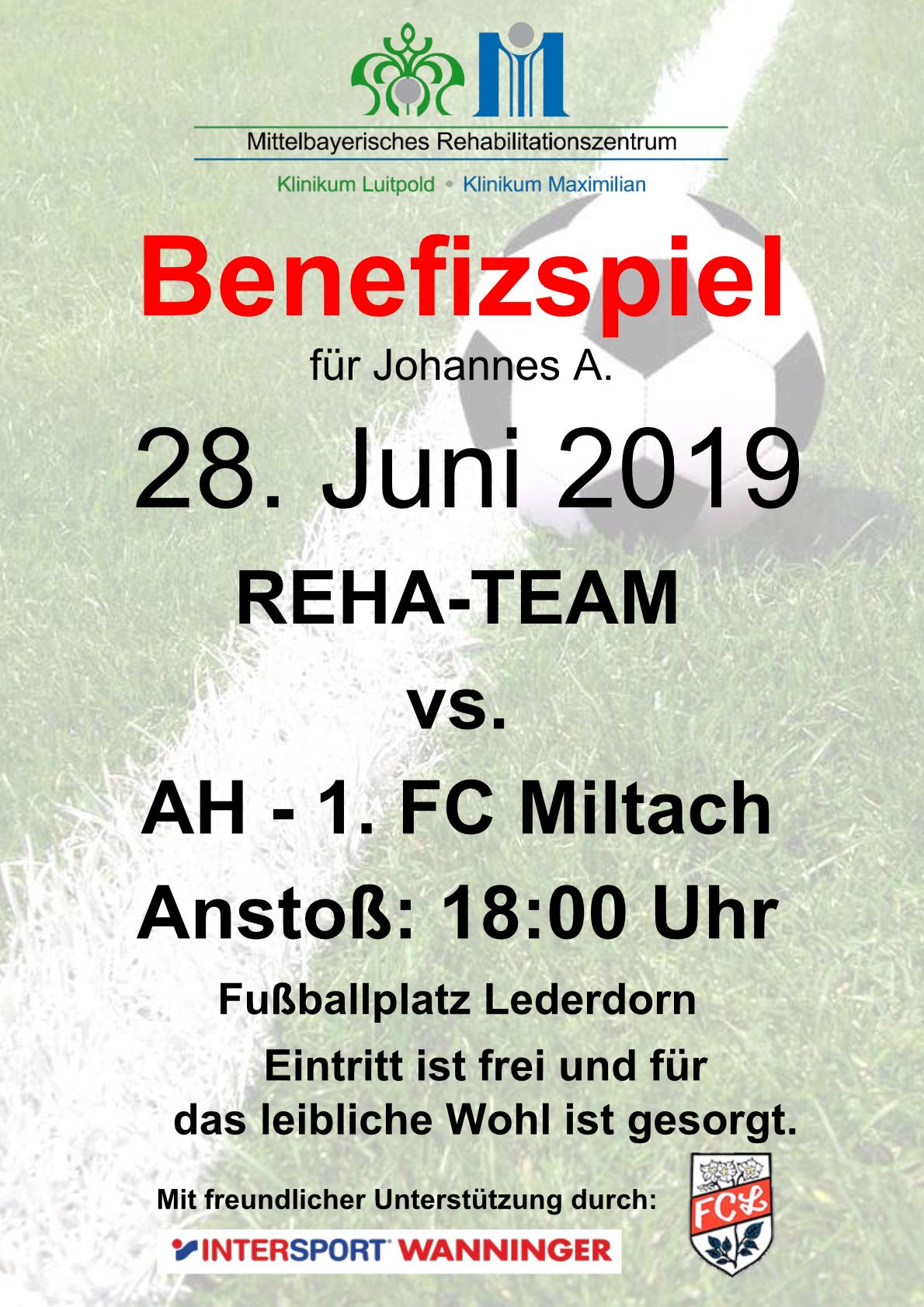 Fußball Benefizspiel